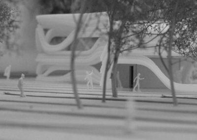 Interface - maquette du pavillon 2