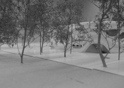 Interface - maquette du pavillon 3