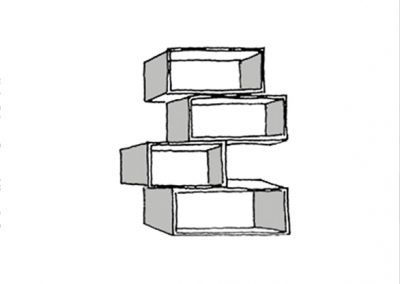 box shelf - croquis 2
