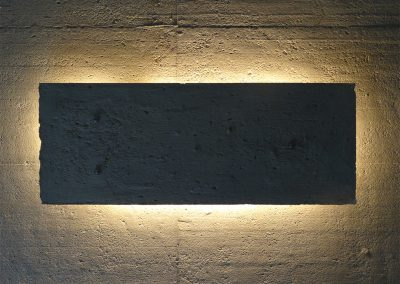 Lampe concrète